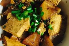 红烧萝卜豆腐