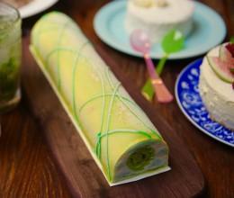 椰香斑兰蛋糕