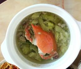 苦瓜螃蟹汤