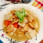 豆腐磷虾汤