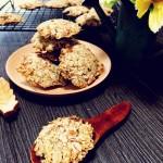 低糖低油红枣核桃燕麦饼