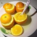 夜咳嗽盐蒸橙子