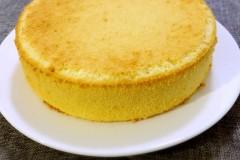 戚风蛋糕(8寸圆模)