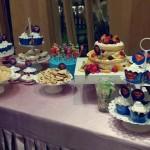 宝宝周岁第一次亲手制作甜品台