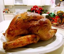 圣诞新年烤火鸡-给卖火柴的小女孩