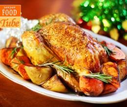 圣诞烤火鸡 Roast Chicken