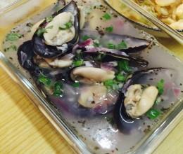 白葡萄酒海虹汤