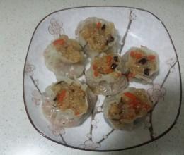 香菇火腿糯米烧麦