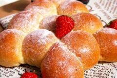 紅豆圣诞树面包——有内涵的甜蜜树