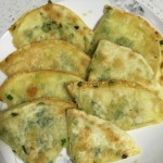 饺子皮的花样玩法——千层葱油饼