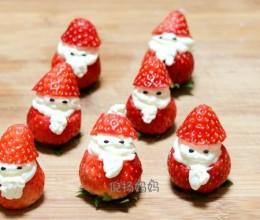 圣诞雪人 草莓圣诞老人