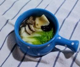 一碗汤面暖身