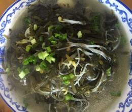 豆芽炒海带