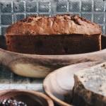 黑糖玫瑰醬全麥磅蛋糕