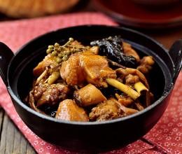 高压锅黄花炖鸡