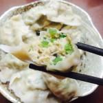 青椒肉馅饺子