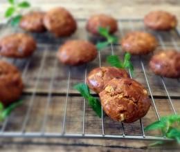 红枣红糖核桃饼干