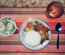 咖喱牛肉(高压锅版)
