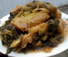 宁波特色菜-烤天菜