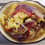 西红柿牛肉浓汤面