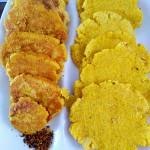 香酥豆渣玉米饼~~电饼铛版