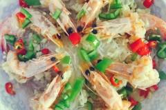 蒜末粉丝黄金虾