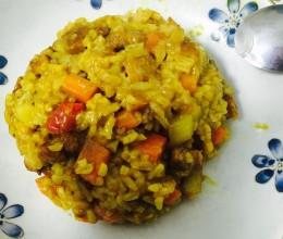 电饭煲咖喱土豆焖饭