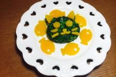 宝宝辅食:拌菠菜