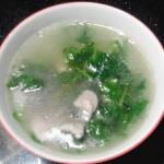 薄荷叶瘦肉汤