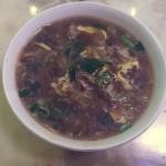 红腌菜拌汤(西北美食)