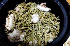 干豆角排骨煲