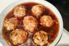 鲜香菇塞肉糜