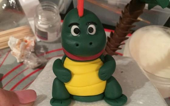 翻糖小恐龙