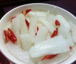 自制酸萝卜