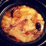 竹荪菌菇炖鸡汤