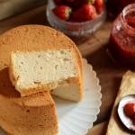 清新柔軟——草莓果醬戚風