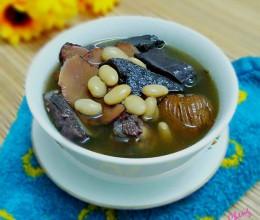 土茯苓赤小豆煲猪横脷