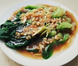 白灼小青菜(炝蒜版)