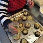 烤蘑菇(和孩子一起做料理)