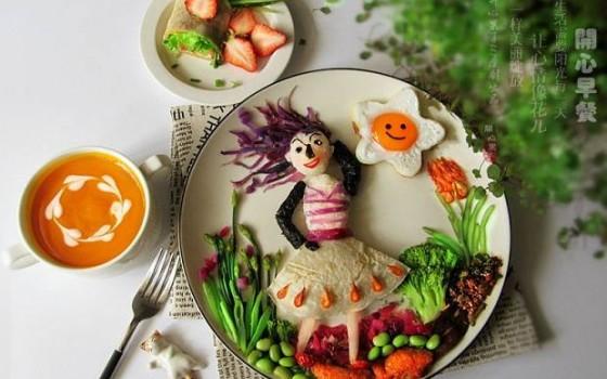 春暖花开趣味早餐