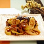 香菇笋肉片