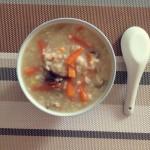 香菇鸡丝粥(感冒版)
