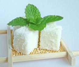 椰香鲜牛奶小方(超级简单版,0失败)