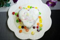 彩虹紫薯酸奶