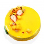芒果百香果慕斯 Mango Mousse With Pineapple Jelly