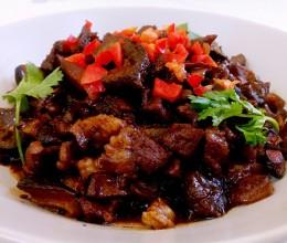 海参牛肉香菇酱