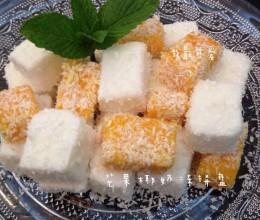 椰奶小方(芒果椰奶冻拼盘)