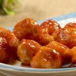 茄汁煨金球