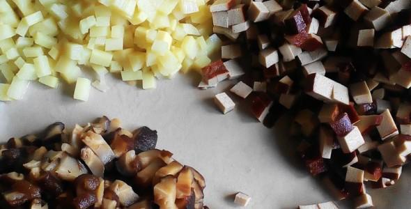 武汉三鲜豆皮的做法 武汉三鲜豆皮的家常做法 武汉三鲜豆皮怎么做