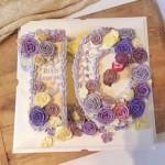 韩式裱花蛋糕 数字蛋糕